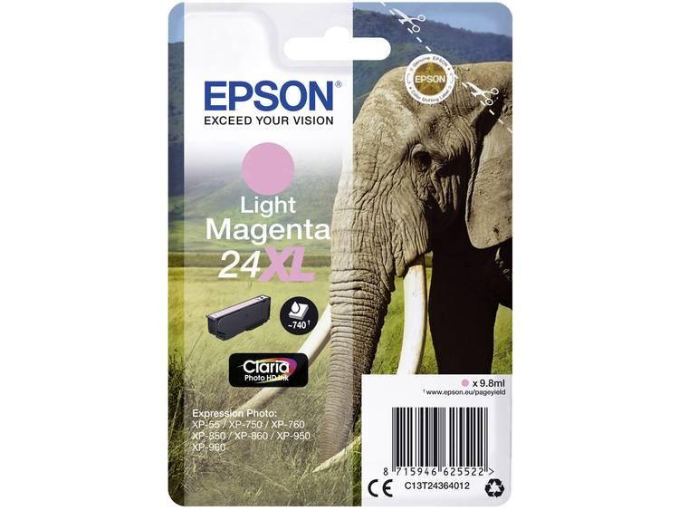 Epson Inkt T2436, 24XL Origineel Lichtmagenta C13T24364012