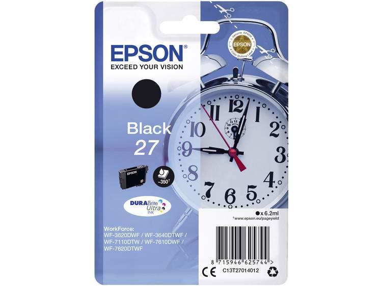 Epson Inkt T2701, 27 Origineel Zwart C13T27014012