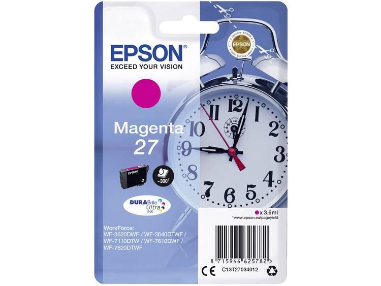 Epson Inkt T2703, 27 Origineel Magenta C13T27034012