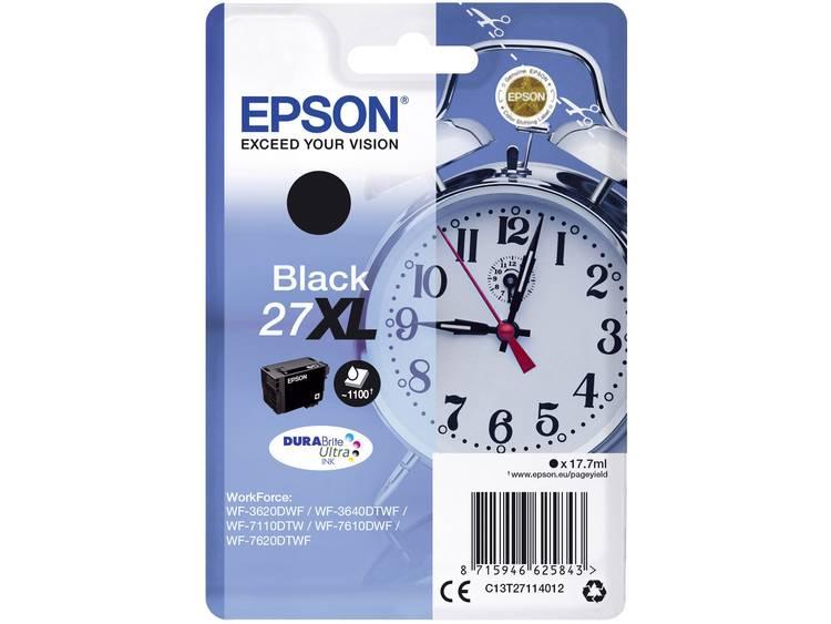 Epson Inkt T2711, 27XL Origineel Zwart C13T27114012