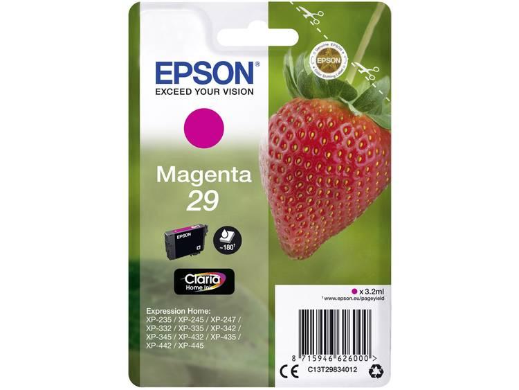 Epson Inkt T2983, 29 Origineel Magenta C13T29834012