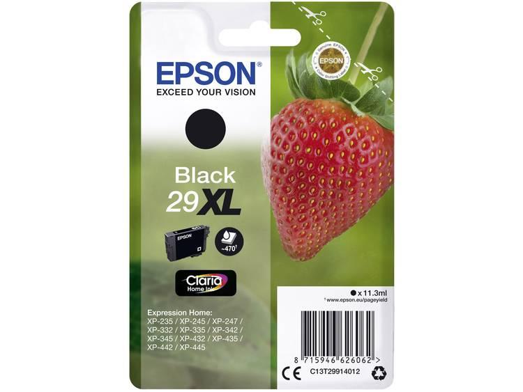 Epson Inkt T2991, 29XL Origineel Zwart C13T29914012