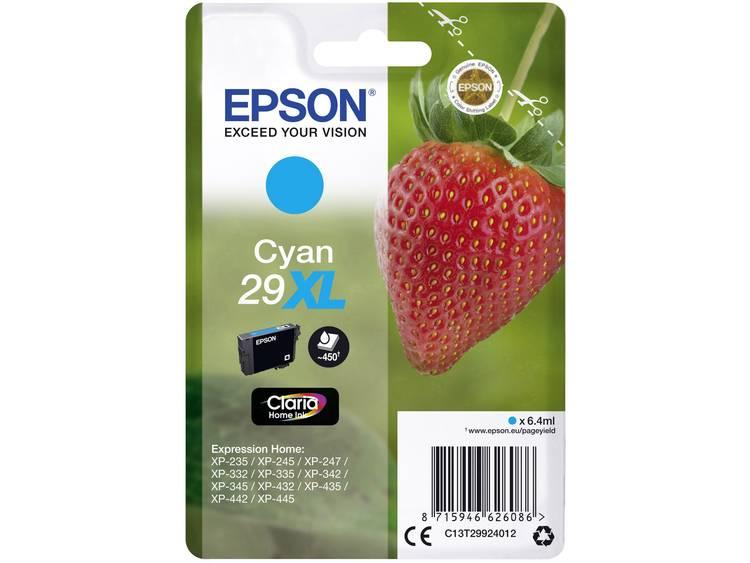 Epson Inkt T2992, 29XL Origineel Cyaan C13T29924012