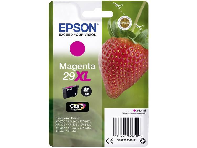 Epson Inkt T2993, 29XL Origineel Magenta C13T29934012
