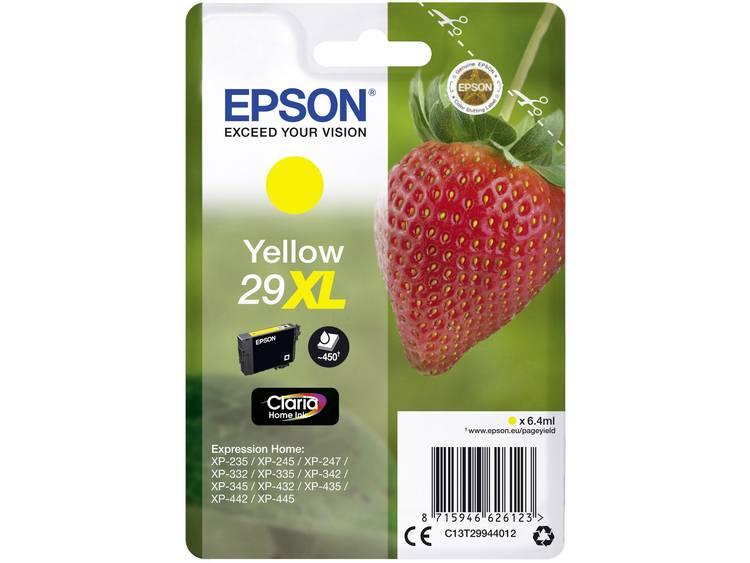 Epson Inkt T2994, 29XL Origineel Geel C13T29944012