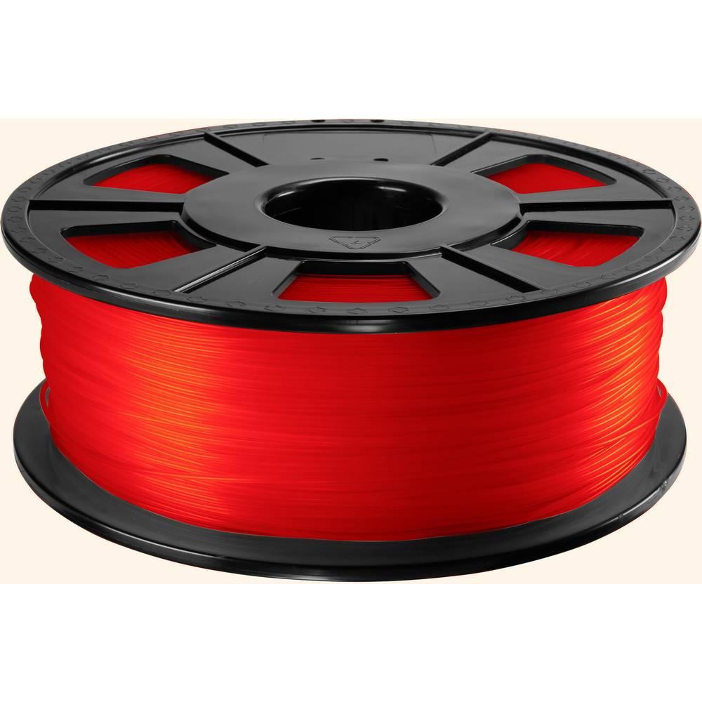 3D-skrivare Filament Renkforce PETG 2.85 mm Röd 1 kg