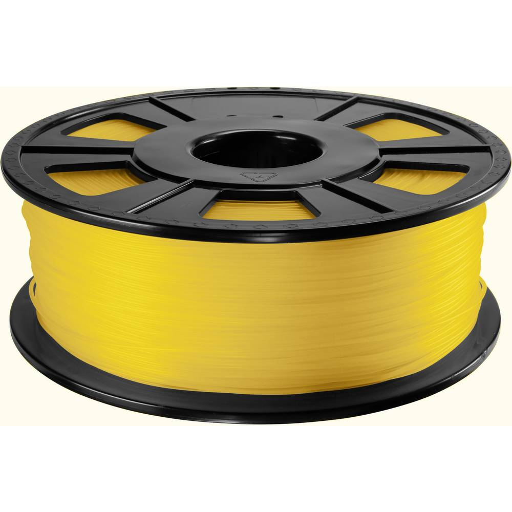 3D-skrivare Filament Renkforce ABS-plast 2.85 mm Gul 1 kg