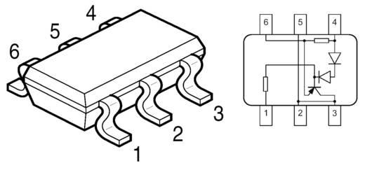 Infineon Technologies BCR402U PMIC - LED-driver Lineair SC-74-6 Oppervlakmontage