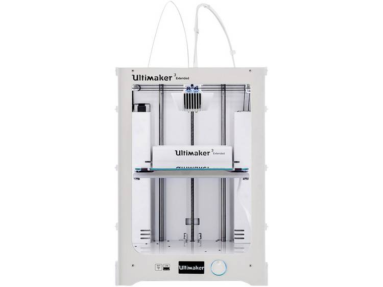 3D-printer Ultimaker 3 Extended Dual nozzle-systeem (Dual Extruder)