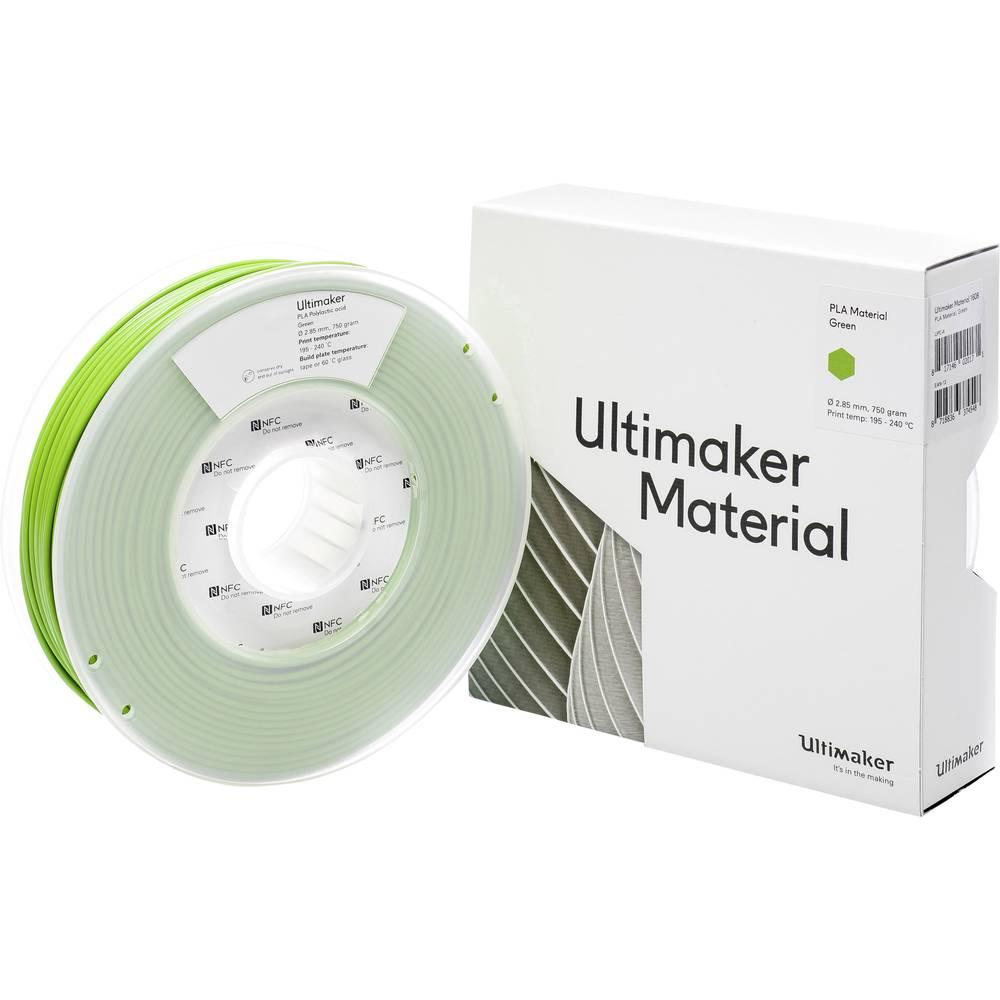 Ultimaker PLA M0751 Green 750 211399 Filament PLA kunststof 2.85 mm Groen 750 g