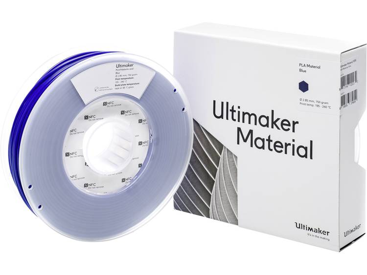 Ultimaker PLA M0751 Blue 750 211399 Filament PLA kunststof 2.85 mm 750 g