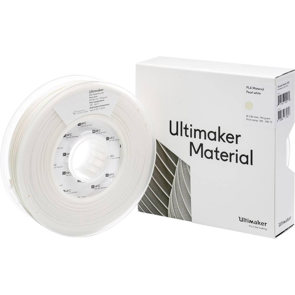 Ultimaker PLA M0751 Pearl White 750 211399 Filament PLA kunststof 2.85 mm Pearl White 750 g