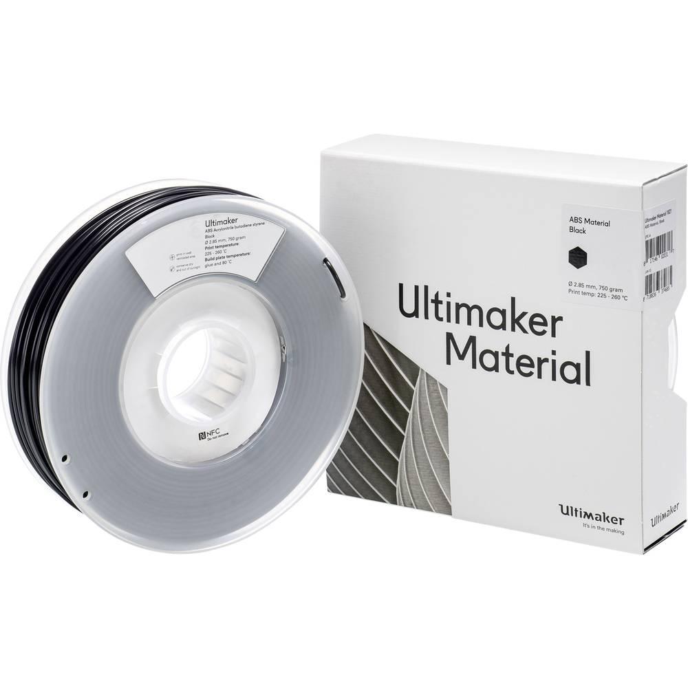 Ultimaker ABS Zwart 2.85mm