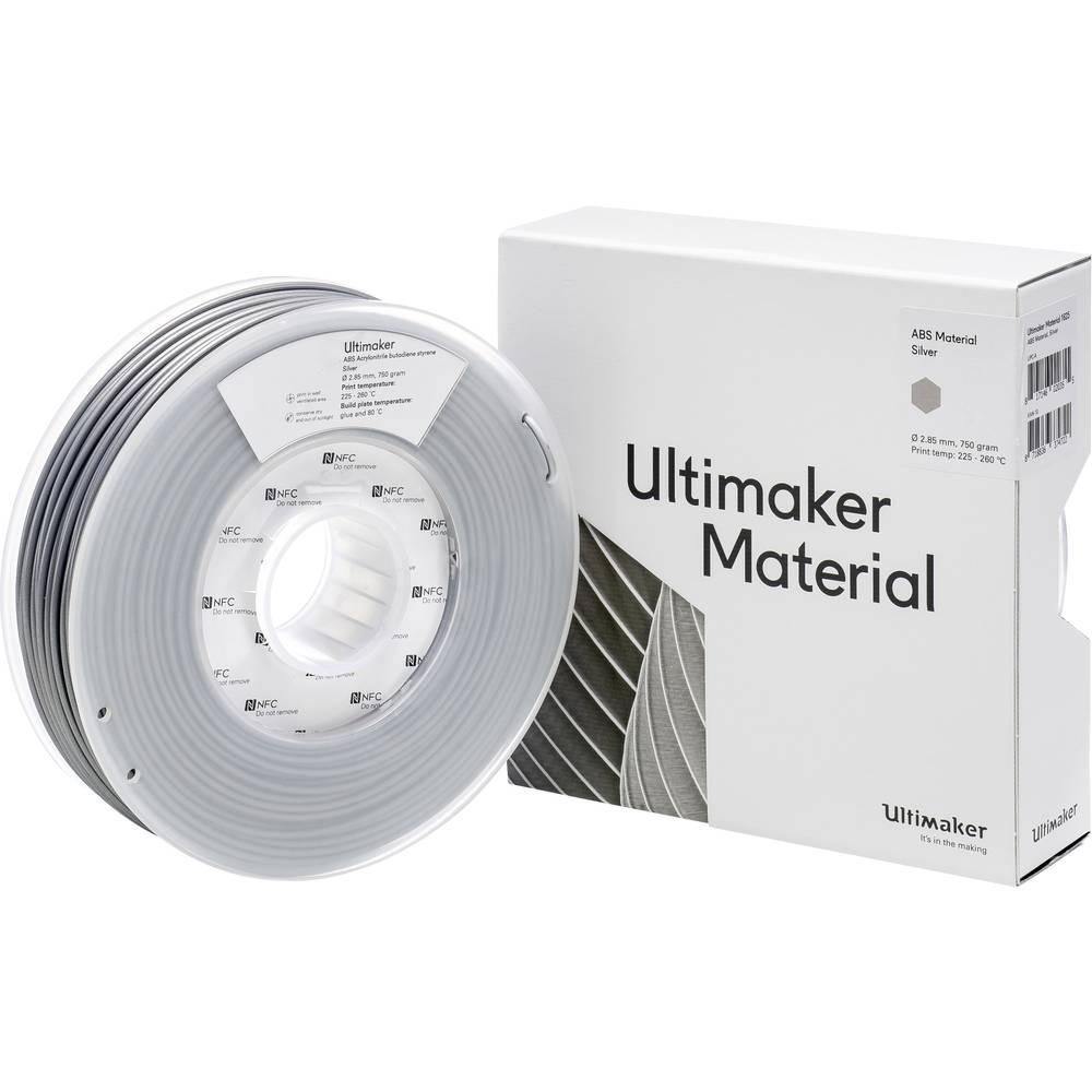 Ultimaker ABS Argent 2.85mm