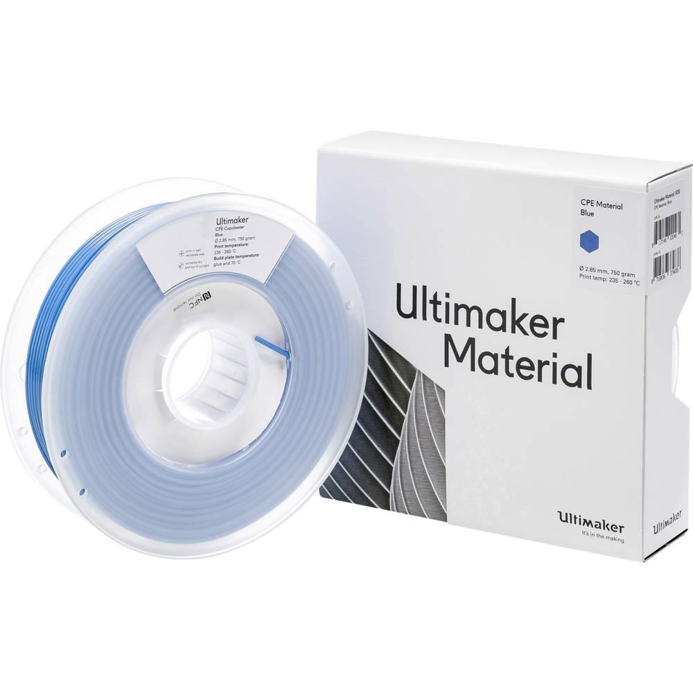 Ultimaker CPE - M0188 Blue 750 - 201273 3D-skrivare Filament CPE 2.85 mm 750 g Blå 1 st