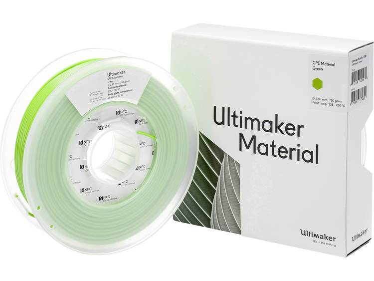 Ultimaker CPE M0188 Green 750 201273 Filament 2.85 mm Groen 750 g