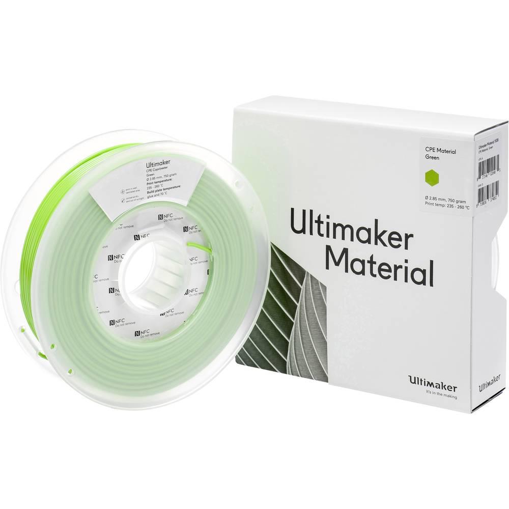 Ultimaker CPE M0188 Green 750 201273 Filament 2.85 mm Groen 750 g