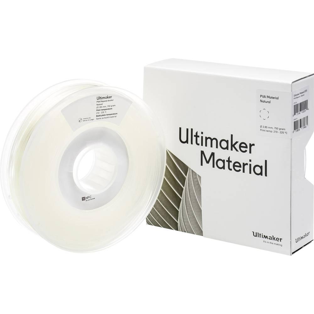 Ultimaker PVA M0952 Natural 750 206127 Filament PVA kunststof 2.85 mm Transparant 750 g