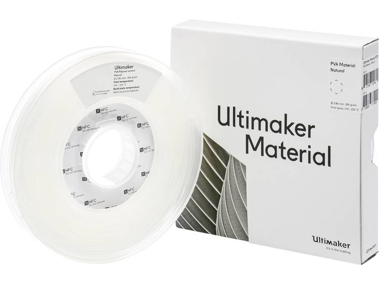 Ultimaker PVA M0952 Natural 350 206127 Filament PVA kunststof 2.85 mm Transparant 350 g