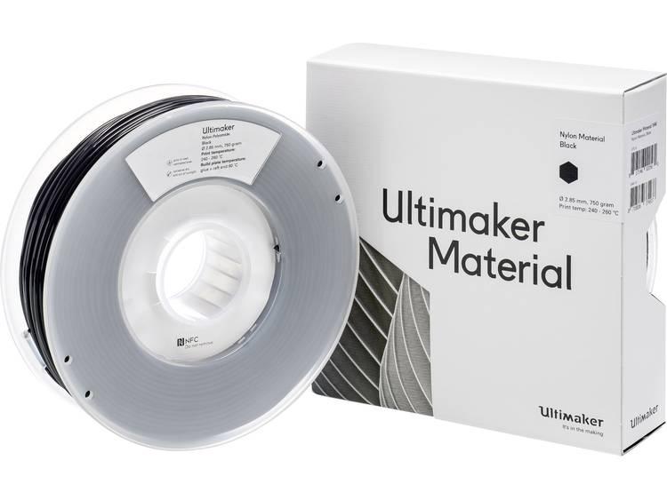 Filament Ultimaker PA (Polyamide) 2.85 mm Zwart 750 g