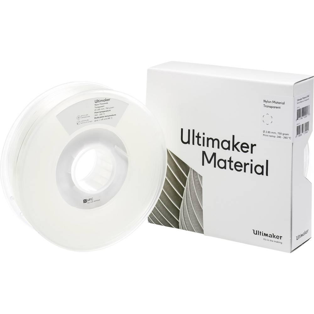 Ultimaker PAX M2085 Transparent 750 215158 Filament 2.85 mm Transparant 750 g