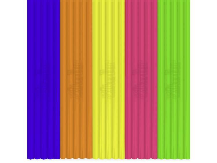 3Doodler FLX-MIX3 Flexibel filament Wit, Blauw, Rood, Oranje 55 g