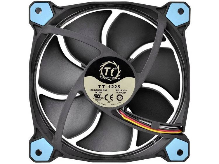 PC ventilator Thermaltake Riing 12 Blauw (b x h x d) 120 x 120 x 25 mm