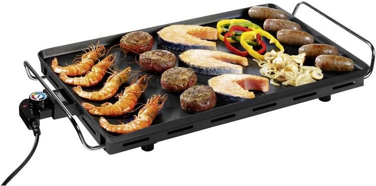 Image of Elektrische grill Princess Table Chef XXL Tafel met handmatige temperatuursinstelling Zwart