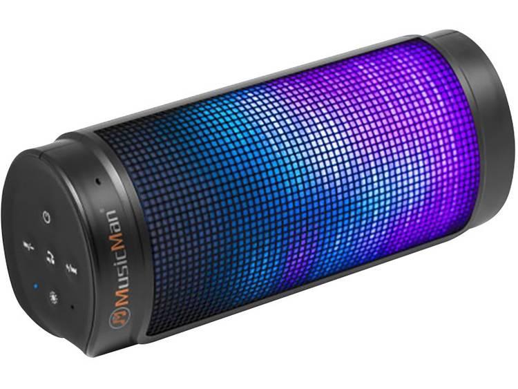 Technaxx Musicman BT-X26 Bluetooth luidspreker AUX, Handsfree-functie, SD Zwart