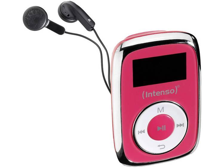 MP3-speler Intenso 8 GB Roze Bevestigingsclip