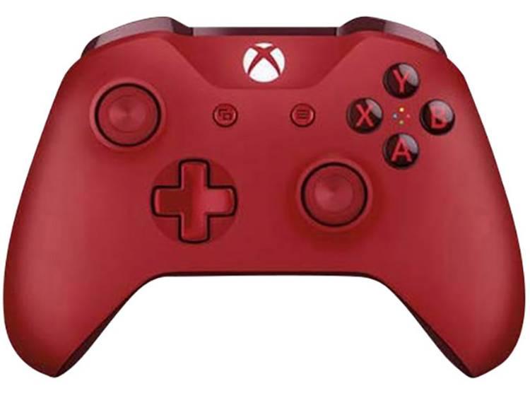 Microsoft Wireless Controller Gamepad Xbox One, PC Rood
