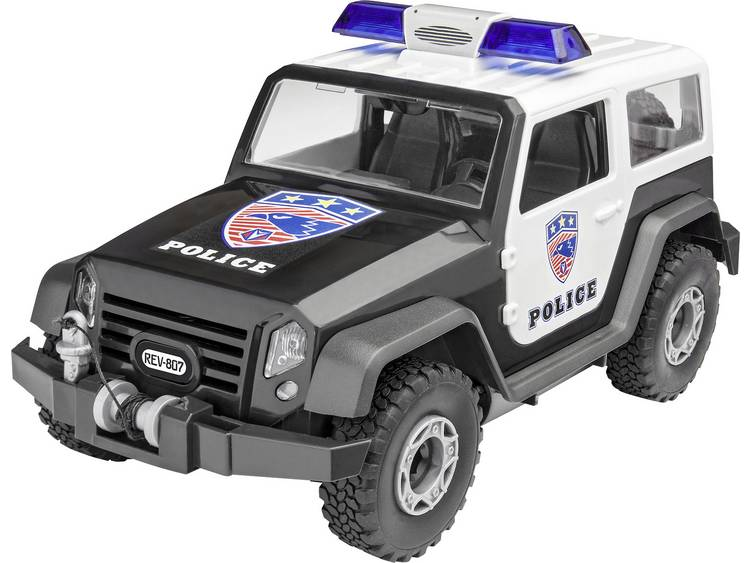 Revell Junior Kit Offroad Vehicle Police