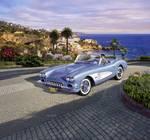 Modelauto Corvette Roadster 58 bouwpakket