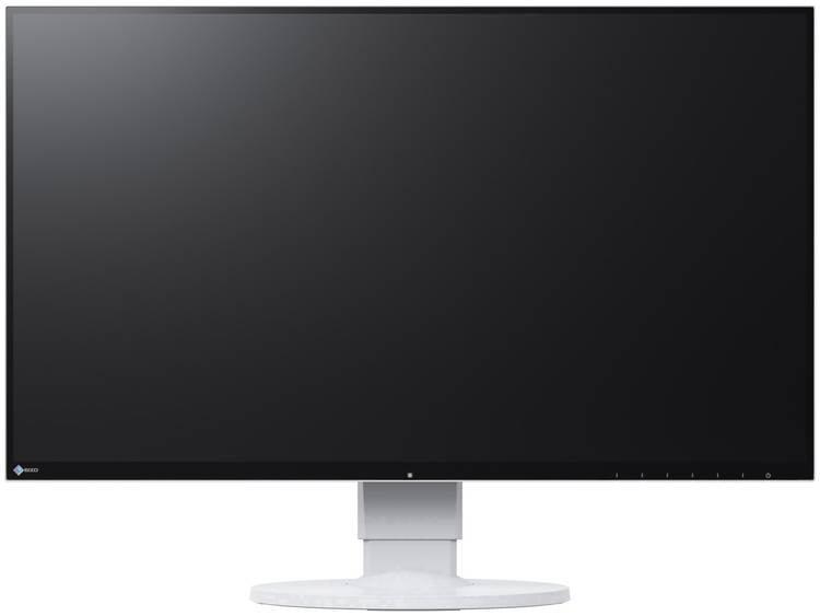 LCD-monitor 68.6 cm (27 inch) EIZO EV2780-WT Energielabel A 2560 x 1440 pix WQHD 5 ms DisplayPort, DVI, HDMI, USB-C, Audio, stereo (3.5 mm jackplug) IPS LCD