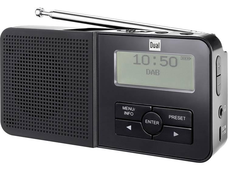 Dual DAB 5 DAB+ Zakradio DAB+, FM Accu laadfunctie, Herlaadbaar Zwart