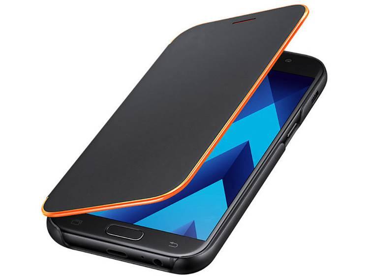 Samsung Neon Flip Cover EF-FA520 GSM flip cover Geschikt voor model (GSMs): Samsung Galaxy A5 (2017) Zwart