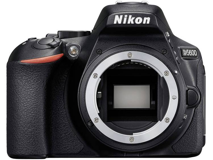 Nikon D5600 Digitale spiegelreflexcamera 24.2 Mpix Zwart WiFi, Full-HD video-opname