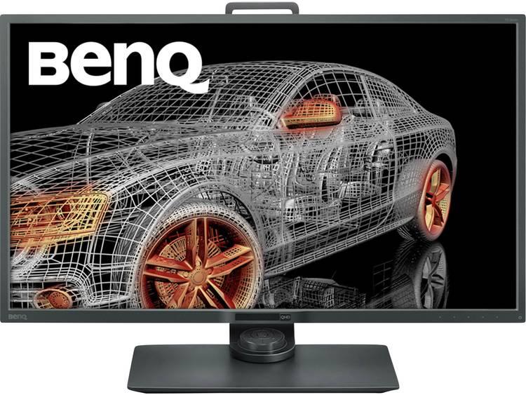 BenQ PD3200Q LCD-monitor 81.3 cm (32 inch) Energielabel A+ (A+++ – D) 2560 x 1440 pix WQHD 4 ms DisplayPort, HDMI, DVI, USB 3.0, Audio, stereo (3.5 mm