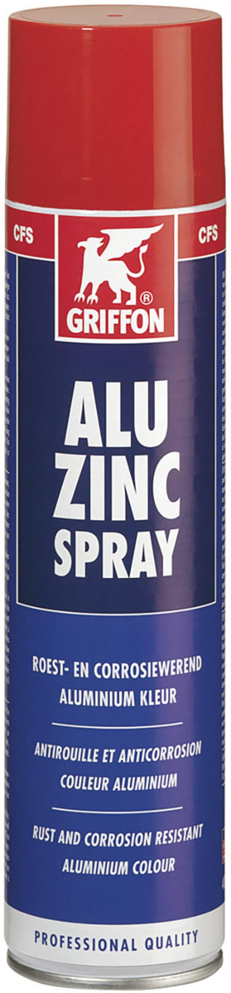 Image of Aluzinkspray 400 ml Griffon ALU ZINC 94140