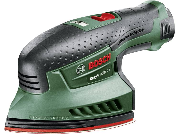 Afbeelding van product Bosch Home and Garden EasySander 12 0603976909 Accu-multischuurmachine Incl. accu, Incl. koffer 12 V 2.5 Ah