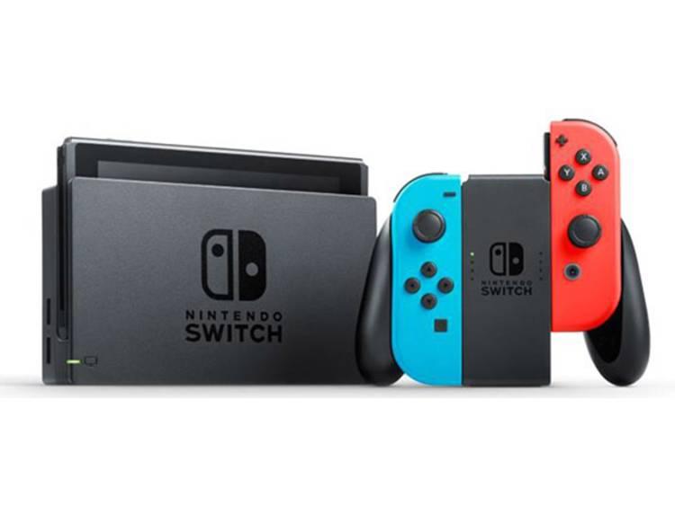 Nintendo Switch console Grijs, Neon-blauw, Neon-rood