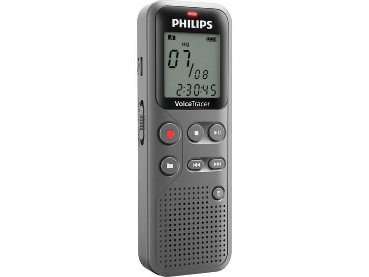 Digitaal dicteerapparaat Philips DVT1110 Opnameduur (max.) 23 h Antraciet