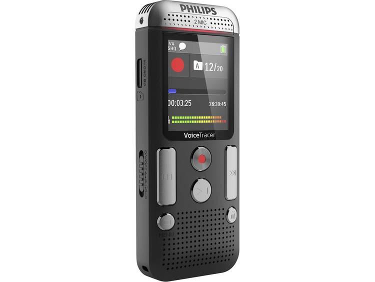 Digitaal dicteerapparaat Philips DVT2510 Opnameduur (max.) 2280 h Antraciet