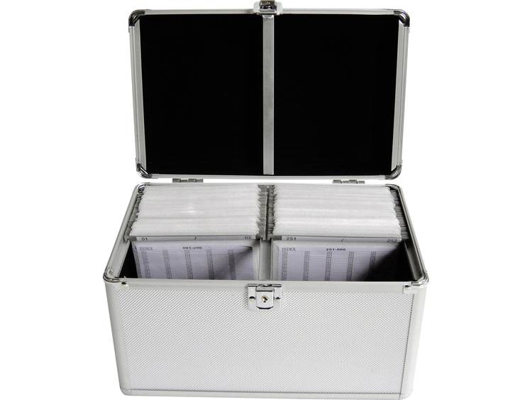 MediaRange CD-case BOX75 Zilver 200 stuks (b x h x d) 301 x 180 x 190 mm