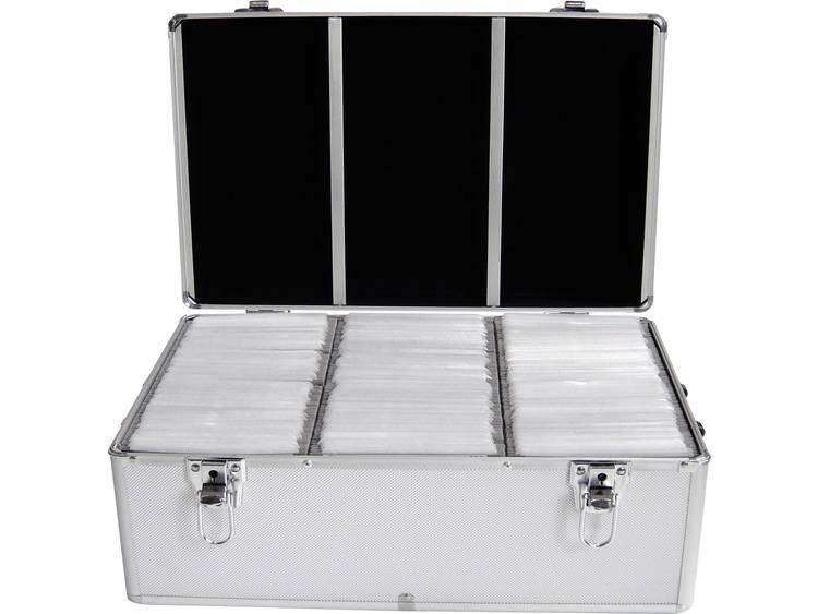 MediaRange CD-case BOX77 Zilver 500 stuks (b x h x d) 447 x 180 x 300 mm