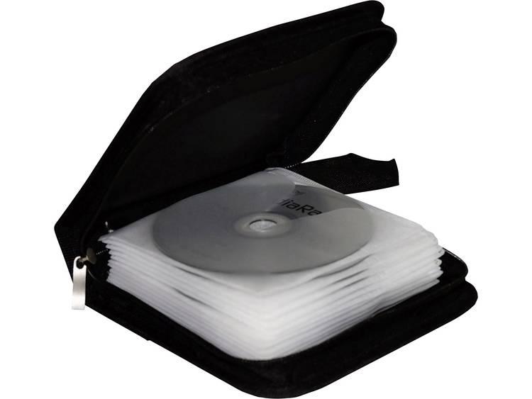 MediaRange BOX50 Zwart (b x h x d) 164 x 39 x 156 mm