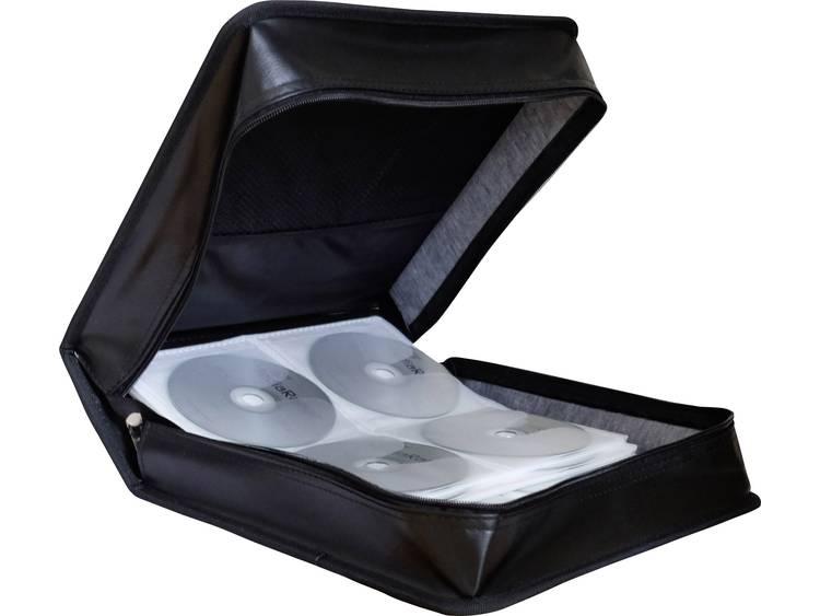 MediaRange BOX93 CD-tas BOX93 Zwart 200 stuks (b x h x d) 314 x 118 x 312 mm