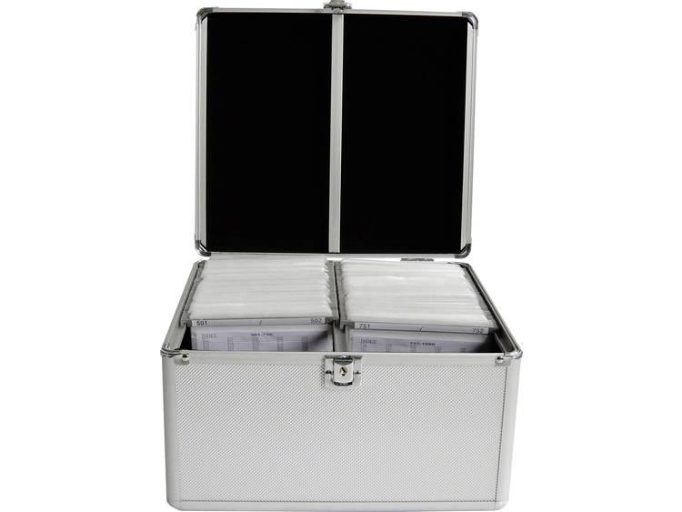 MediaRange CD-case BOX76 Zilver 300 stuks (b x h x d) 301 x 180 x 265 mm
