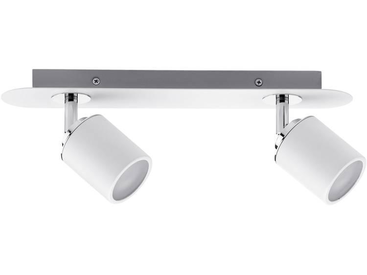 Badkamer plafondlamp LED GU10 20 W Paulmann Tube 66718 Wit, Chroom