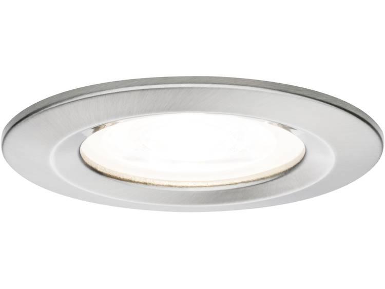 Paulmann Nova Badkamer inbouwlamp LED GU10 7 W IJzer (geborsteld)